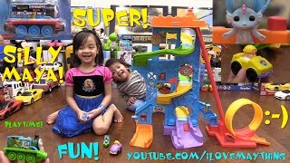 Fisher-Price Little People Wheelies N Swoops Amusement Park and Thomas & Friends Take N Play