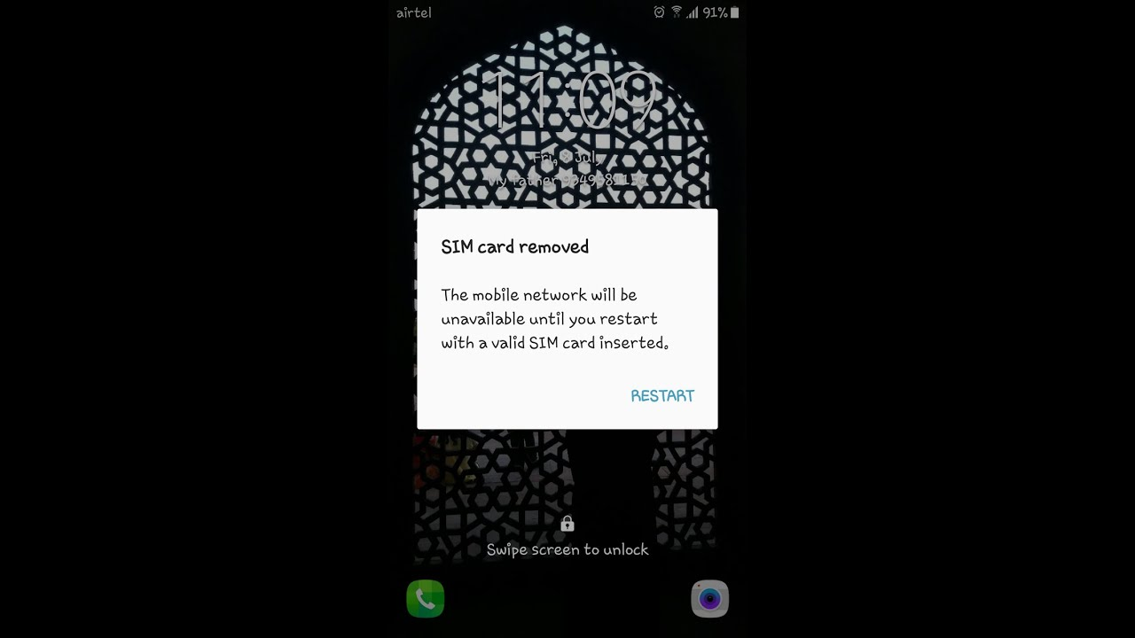 How to fix SIM Card Removed Error on Android Phones I Quick Fix