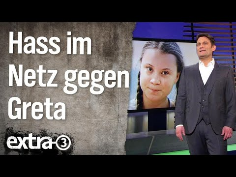 Hass Im Netz Gegen Greta Thunberg Extra 3 Ndr