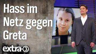 Hass im Netz gegen Greta Thunberg