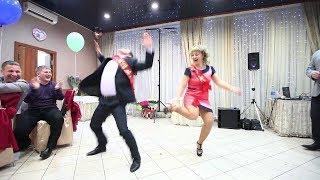 Танцы на свадьбе подборка прикольно танцуют