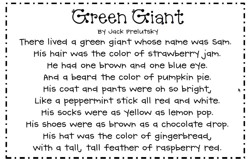 Green Giant - YouTube