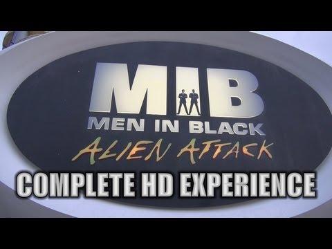 MIB Men In Black Alien Attack On-ride (Complete HD Experience) Universal Orlando
