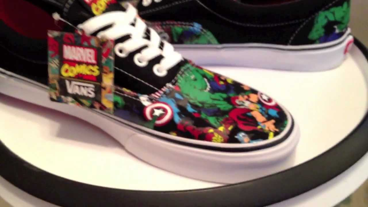 Marvel Shoes Vans