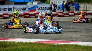 Чемпионат и первенство России по картингу 2021 года, 1 этап, Крепость Грозная