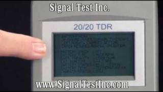 TDR Time Domain Reflectometer Part 5 - TDR Instrument Settings