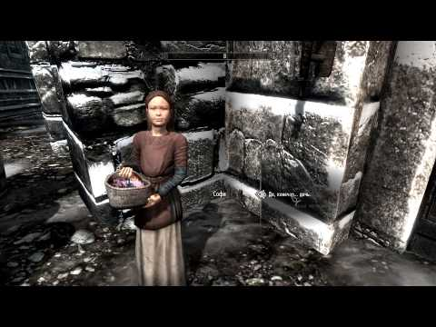 Skyrim #085 - Свадьба и усыновление детишек...