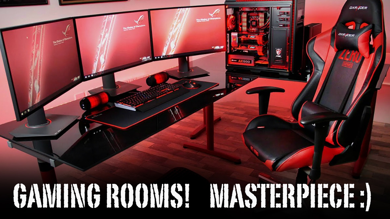 Top 5 Best Youtube Gaming Rooms In 2017 Youtube