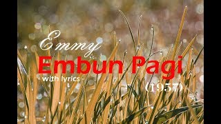 Gambar cover Emmy - Embun Pagi (with lyrics)