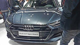 Audi A7 Sportback 2018 Exterior & Interior Review