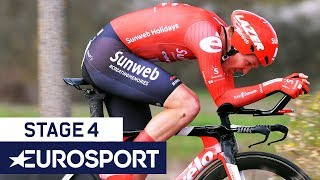 Paris-Nice 2020 | Stage 4 Highlights | Cycling | Eurosport