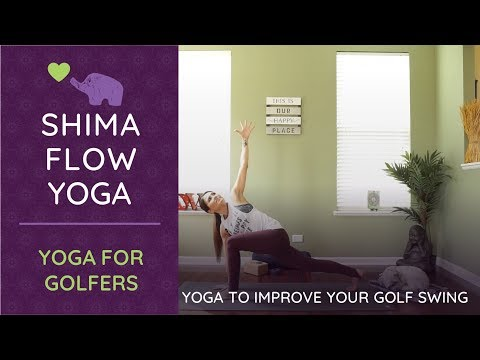 HOW TO GENERATE POWER IN YOUR GOLF SWING I YOGA for GOLF I GOLF LESSONS the PRO'S DO