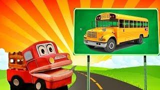 Barney el camion- Aprendemos los sonidos de los transportes - Video Educativo para niños # thumbnail