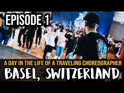 A Day in the Life of a Traveling Choreographer : Switzerland - EP 1