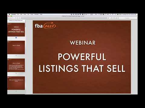 Powerful Listing Creation and Optimization for Amazon Sellers