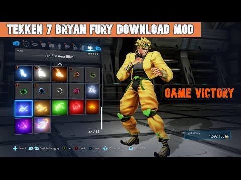 Tekken 7 Bryan New Mod || Tekken 7 Bryan Fury Download Mods || Game Victory