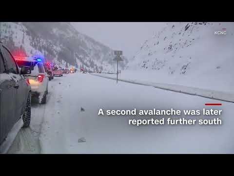 Colorado avalanche caught on dashcam, shuts down I 70 𝙡𝙞𝙣𝙠𝙨 𝙞𝙣 𝙙𝙚𝙨𝙘𝙧𝙞𝙥𝙩𝙞𝙤𝙣