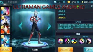 Ultraman Orb Games Android - all character.