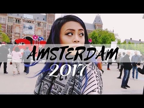 Amsterdam Holland 2017: Red Light District | Dam Square | Solo Travel Adventure