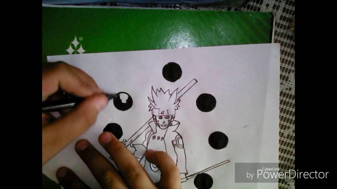 Naruto Modo Sabio De Los 6 Caminos Para Colorear: Como Dibujar A Naruto Modo Sabio De Los 6 Caminos/drawing