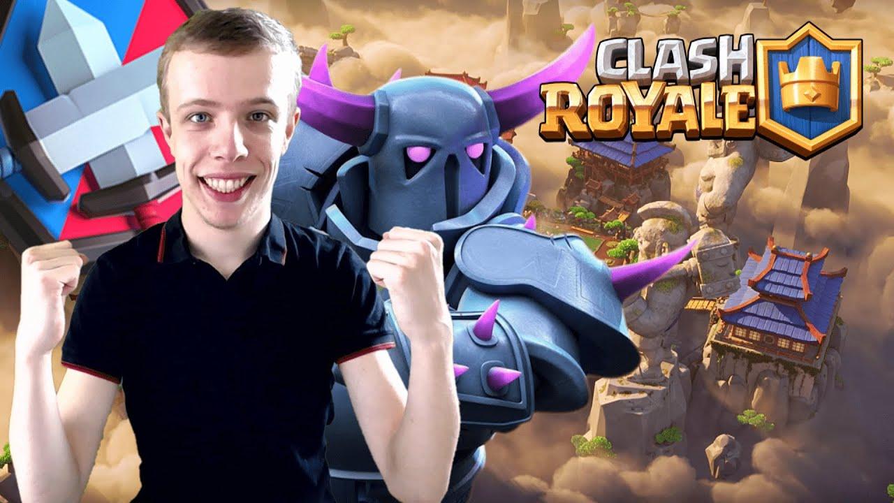 WIJ ZIJN AAN ELKAAR GEWAAGD?! - Clash Royale #59