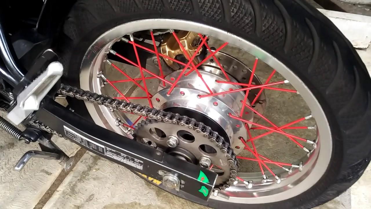 Modifikasi Motor Cb150r Jari-jari #otovlog #modifikasi