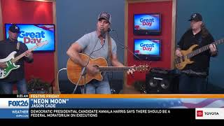 "Jason Cade performing ""Neon Moon"" (cover)"