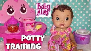 Baby Alive All Gone 2011 feeding and potty training 💩