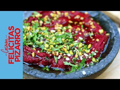 Hummus de Remolacha (Beetroot Hummus) | Felicitas Pizarro