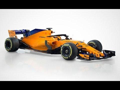 McLaren reveal eye catching F1 car for 2018