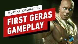 Mortal Kombat 11 Pro Gameplay - Geras vs. Skarlet