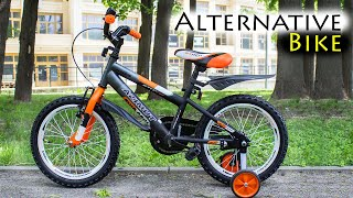 Детский АШАНЫЧ, Azimut Stitch 16, ОБЗОР детского велосипеда от 3 лет за недорого ;)
