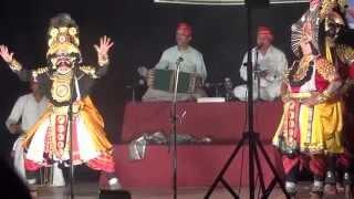 Yakshagana Vidyadhara Jalavalli as Magadha, Prasanna Bhat