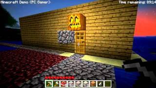 let,s play minecraft pc gamer demo deutsch #1 folge 1 minecraft begint