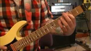 How to play Rime Of The Ancient Mariner by Iron Maiden on guitar