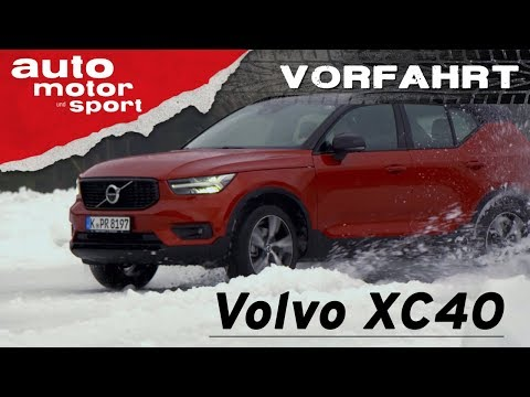Volvo XC40: Konkurrenz für Kodiaq und Tiguan? – Vorfahrt (Fahrbericht/Review) | auto motor und sport