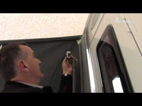 Isabella Awnings - Magnum 250 Coal assembly