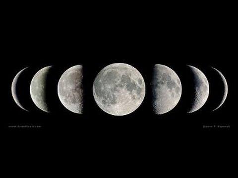 Lunar calendar series- moon phases