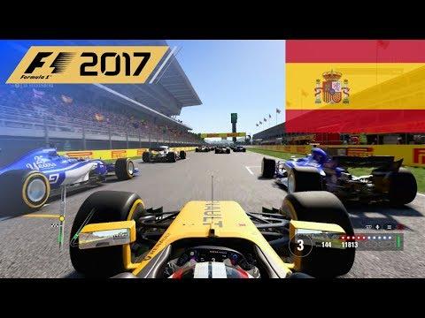 F1 2017 - 100% Race at Circuit de Barcelona-Catalunya in Hülkenberg's Renault