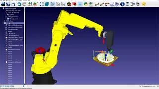 Crie e edite um pós processador robótico
