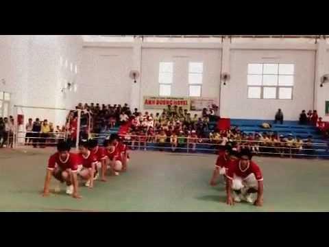 Aerobic Trường THPT Ninh Hải