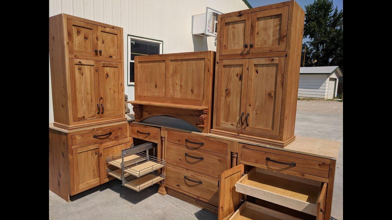 New Set Alert Knotty Birch Kitchen Cabinets W Inset Door Design Pullouts 3500