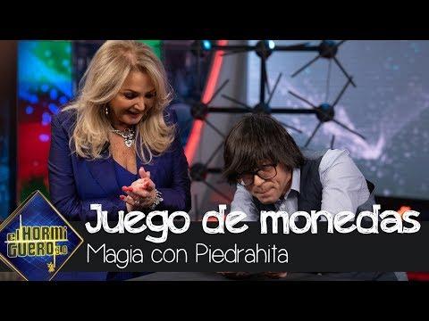Bonnie Tyler sorprendida con el truco de magia de Luis Piedrahita - El Hormiguero 3.0