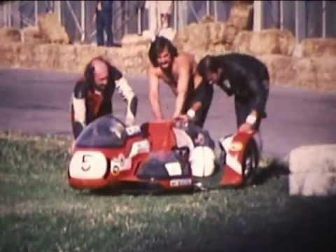 courses  compétitions MOTOS SIDECAR AVIGNON 1977 championnat de France