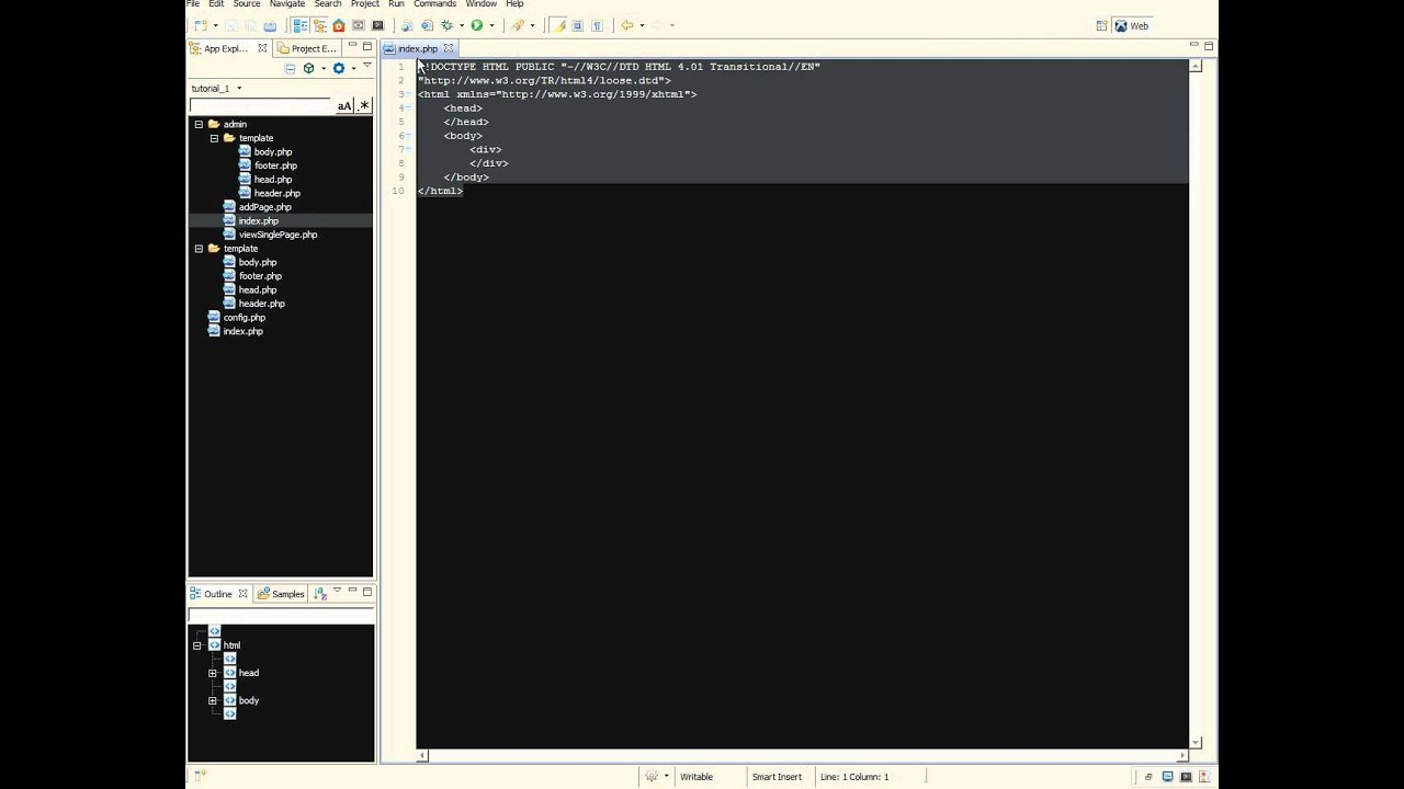 1 creating a simple website with php and mysql youtube creating a simple website with php and mysql youtube baditri Gallery