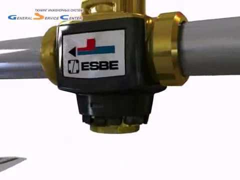 Замена термостата в клапане Esbe VTC 300 - YouTube