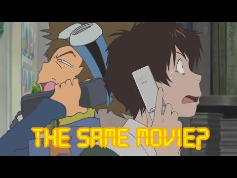 Digimon vs. Summer Wars: A Scene-for-Scene Comparison デジモンXサマーウォーズ 類似検証