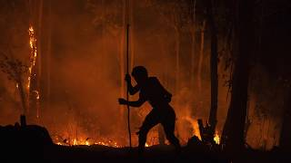 Incêndio na Terra Indígena Jaraguá.