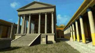 Pompeya La leyenda del Vesubio (2000) Templo