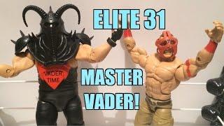 WWE ACTION INSIDER: E31 Vader! Elite Series 31 Mattel Wrestling Figure Flashback Toy Review